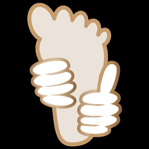 icone reflexologie plantaire